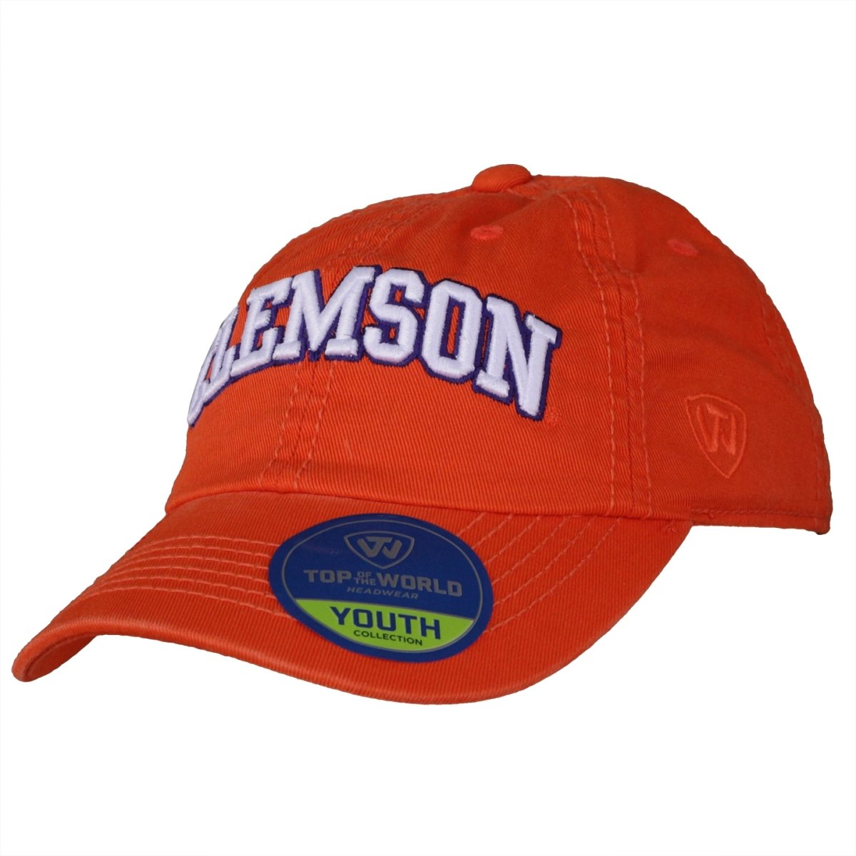 Top of the World Clemson Youth Crew Cap With Clemson Arch - Mr. Knickerbocker