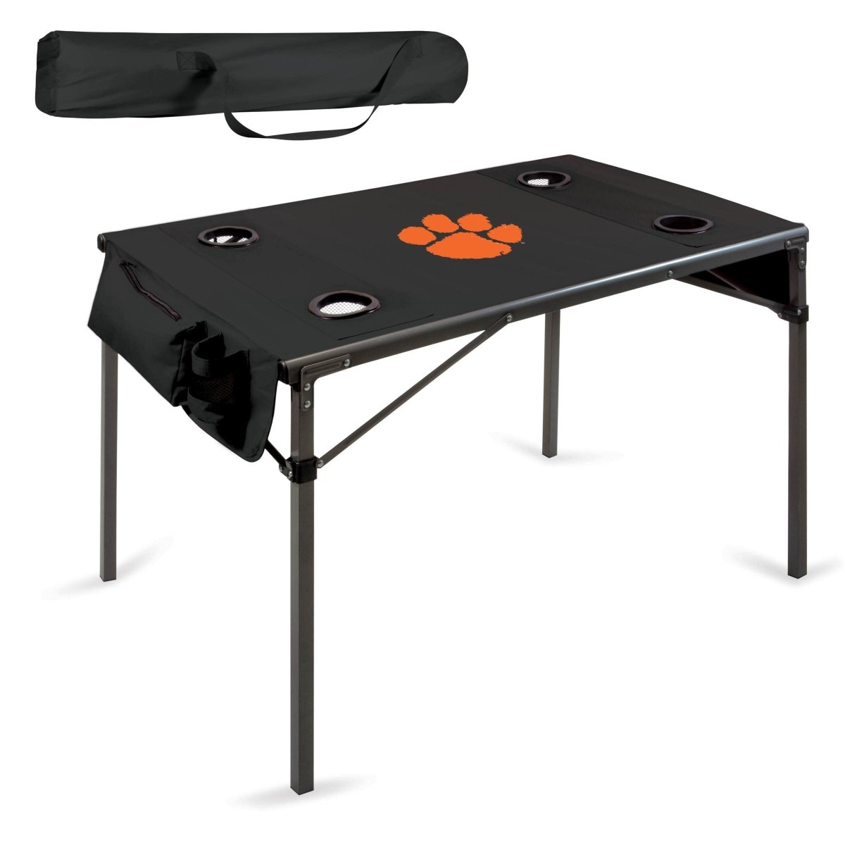 Travel Table With Orange Paw - Mr. Knickerbocker