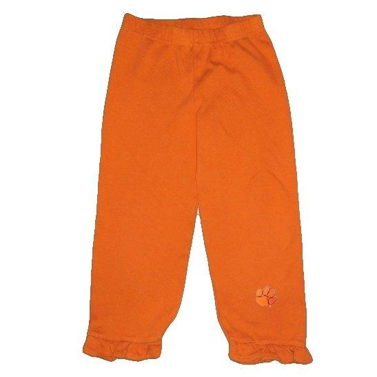 Two Feet Ahead Clemson Tigers Frill Bottom Pants - Mr. Knickerbocker