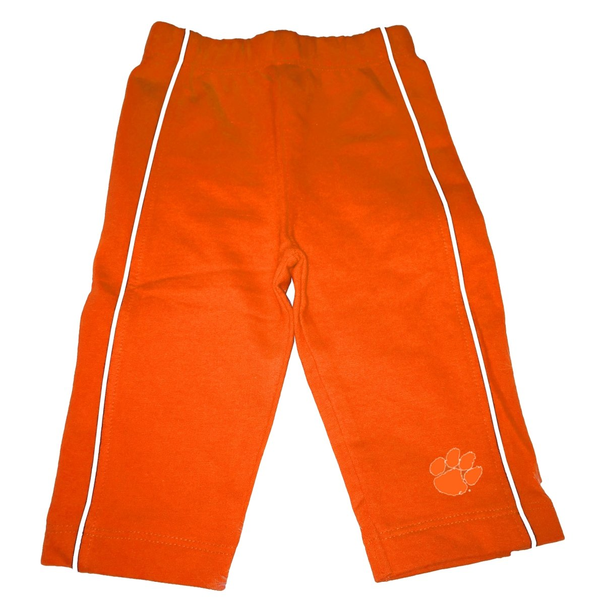 Two Feet Ahead Clemson Tigers Infant Casual Pant With Paw Print - Mr. Knickerbocker