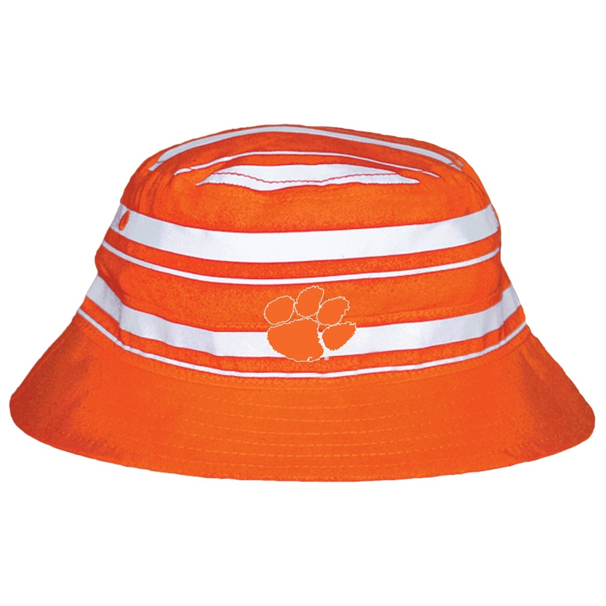 Two Feet Ahead Clemson Tigers Infant Rugby Bucket Hat - Mr. Knickerbocker