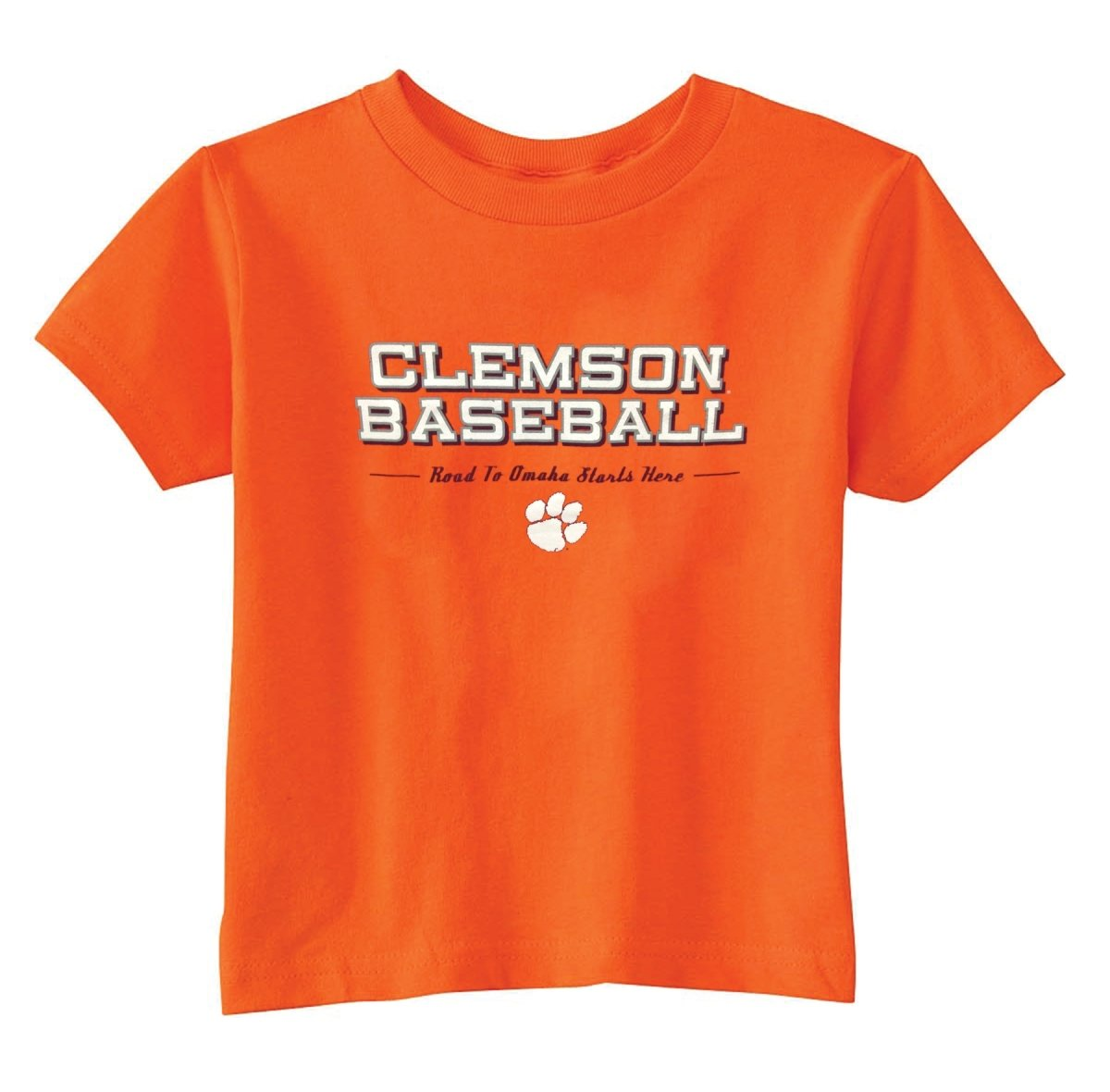 "Viatran Clemson Tigers ""Road to Omaha"" T-shirt - Mr. Knickerbocker"