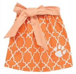 Vive La Fete Quatrefoil Skirt With Bow - Mr. Knickerbocker