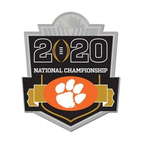 Wincraft 2020 National Championship Game Participant Collector's Pin - Mr. Knickerbocker
