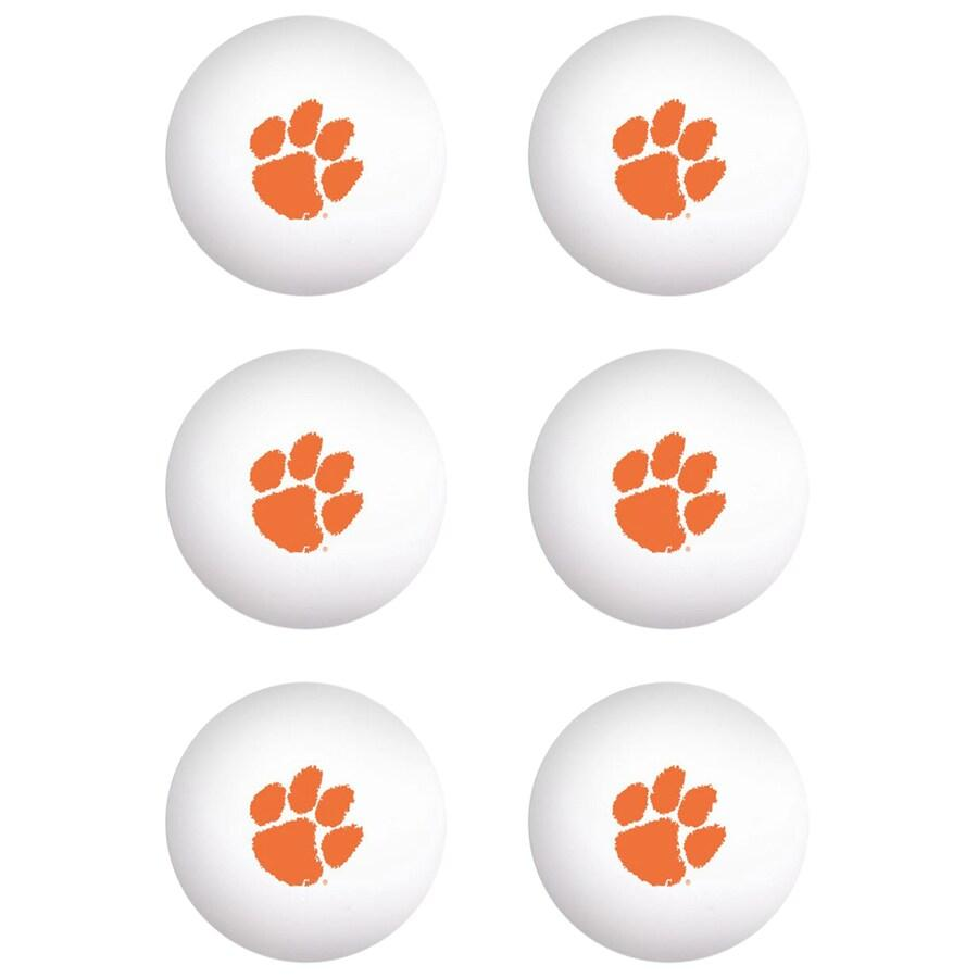Wincraft Clemson Tigers 6-pack Table Tennis Balls - Mr. Knickerbocker