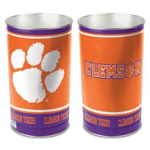 Orange NCAA Clemson Tigers Adult Collapsible 3-in-1 Trash Can