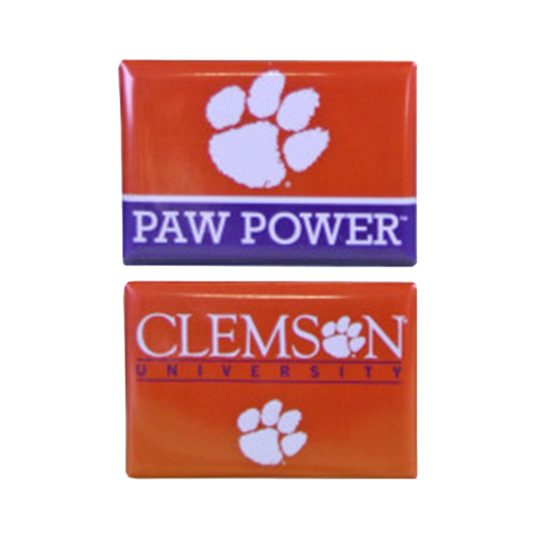 "Wincraft Clemson University 2 Pack of 2"" X 3"" Magnets - Mr. Knickerbocker"