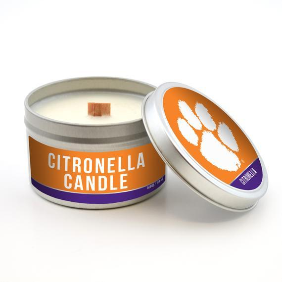 Worth Promotional Clemson Tigers Citronella Candle - Mr. Knickerbocker