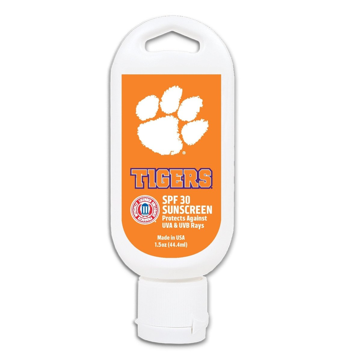 Worthy Promotional Clemson Tigers Sunscreen - Mr. Knickerbocker