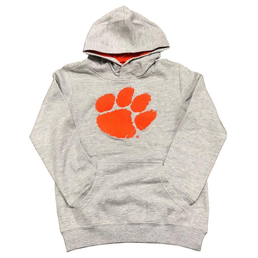 Youth Hoodie With Applique Paw - Mr. Knickerbocker