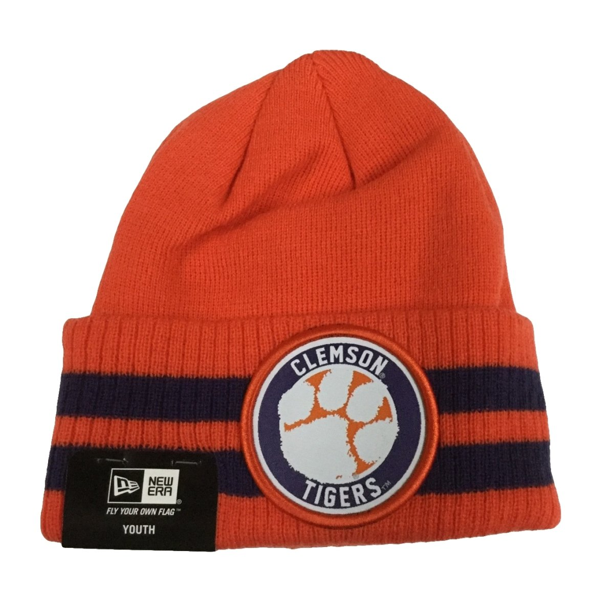 Youth Striped Remix Knit Beanie - Mr. Knickerbocker