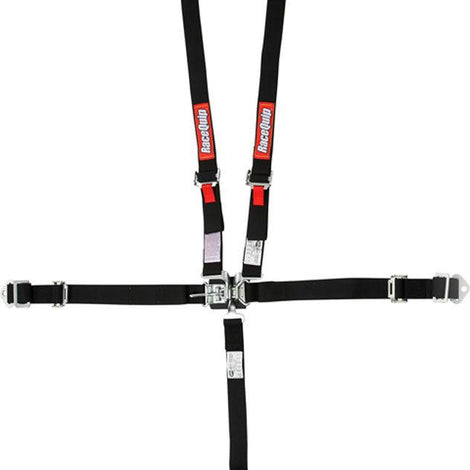 5pt Harness Set Jr LL BK - Augusta Motorsports Racing Fire Systems