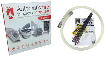 Blazecut T100E Device Fire Suppression - T Series - Augusta Motorsports Racing Fire Systems