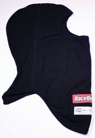 Headsock FR Black Double Layer SFI 3.3 - Augusta Motorsports Racing Fire Systems