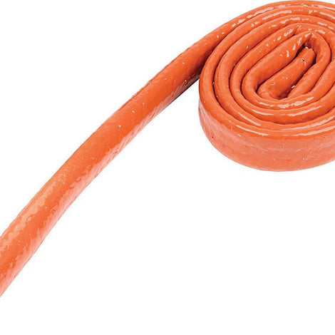 Heat Sleeve 1/4in x 3ft Orange - Augusta Motorsports Racing Fire Systems
