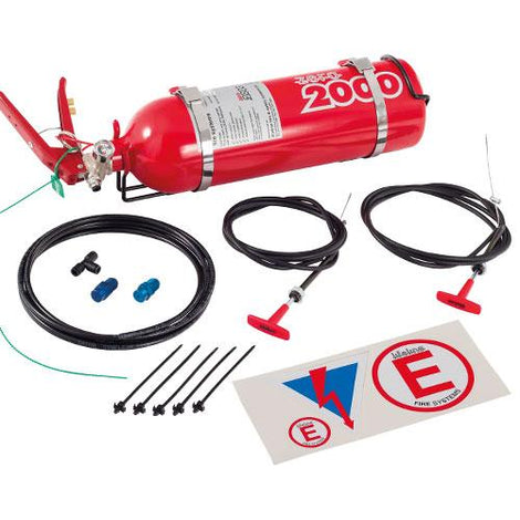 Lifeline Zero 2000 2.25ltr Club Fire Marshal Mechanical System - Augusta Motorsports Racing Fire Systems