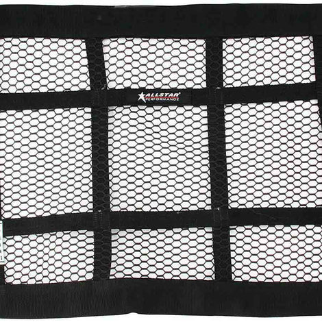 Mesh Window Net Black 22 x 18 SFI - Augusta Motorsports Racing Fire Systems