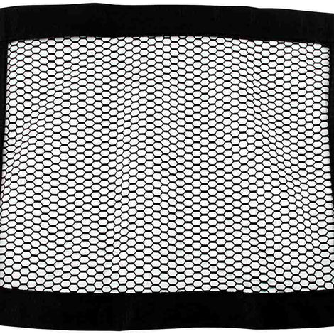 Mesh Window Net Black Non SFI 22 x 18 - Augusta Motorsports Racing Fire Systems