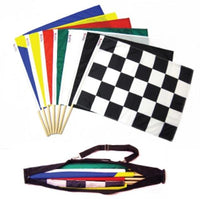 NASCAR SCCA Official Race Track Racing Flag Set - Professional Use - Augusta Motorsports Racing Fire Systems