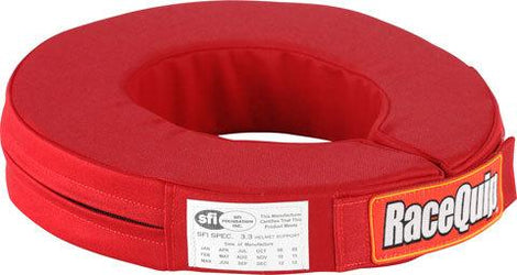 Neck Collar 360 Red SFI - Augusta Motorsports Racing Fire Systems