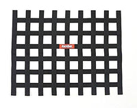 Ribbon Window Net Black Non-SFI - Augusta Motorsports Racing Fire Systems