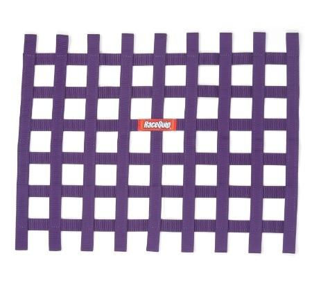 Ribbon Window Net Purple Non-SFI 18in x 24in - Augusta Motorsports Racing Fire Systems