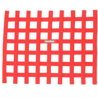 Ribbon Window Net Red Non-SFI - Augusta Motorsports Racing Fire Systems
