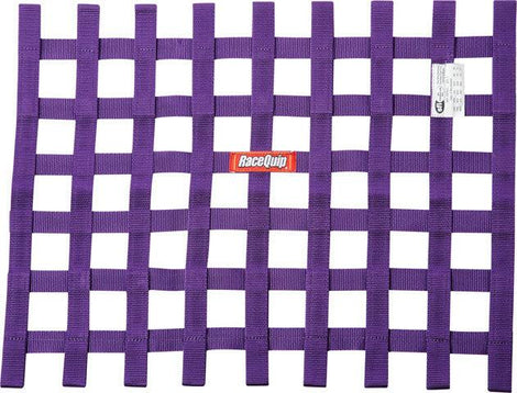 Ribbon Window Net SFI Purple - Augusta Motorsports Racing Fire Systems