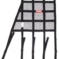 Window Net Mesh Angled Black SFI - Augusta Motorsports Racing Fire Systems