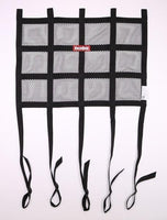 Window Net Mesh Black SFI Hybrid Adj. Strap - Augusta Motorsports Racing Fire Systems