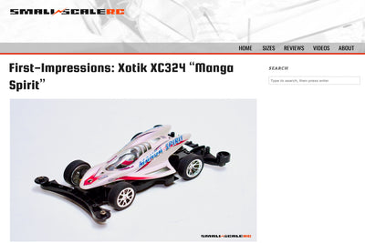 Review article of the XOTIK XC324 Manga Spirit by Small Scale RC.