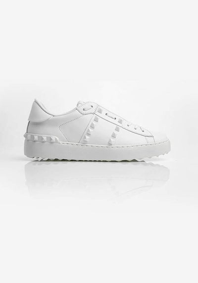 Valentino Studded Sneakers White