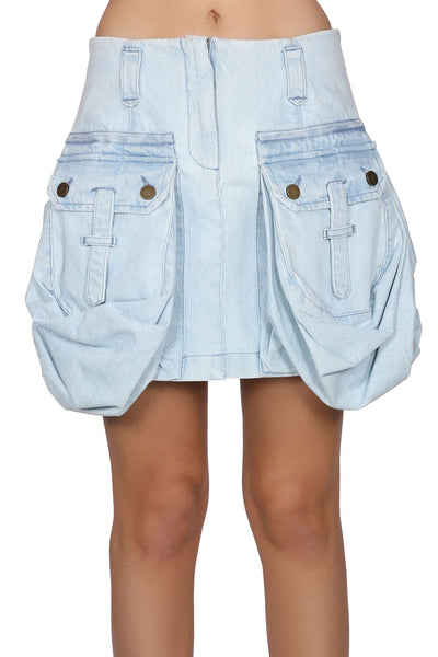 Alberta Ferretti Denim Skirt