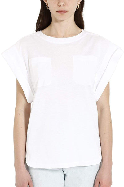 Alberta Ferretti White Cotton T-shirt