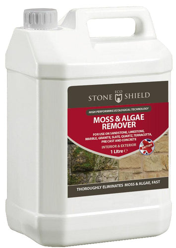 Moss & Algae Remover - Eco Stone Shield