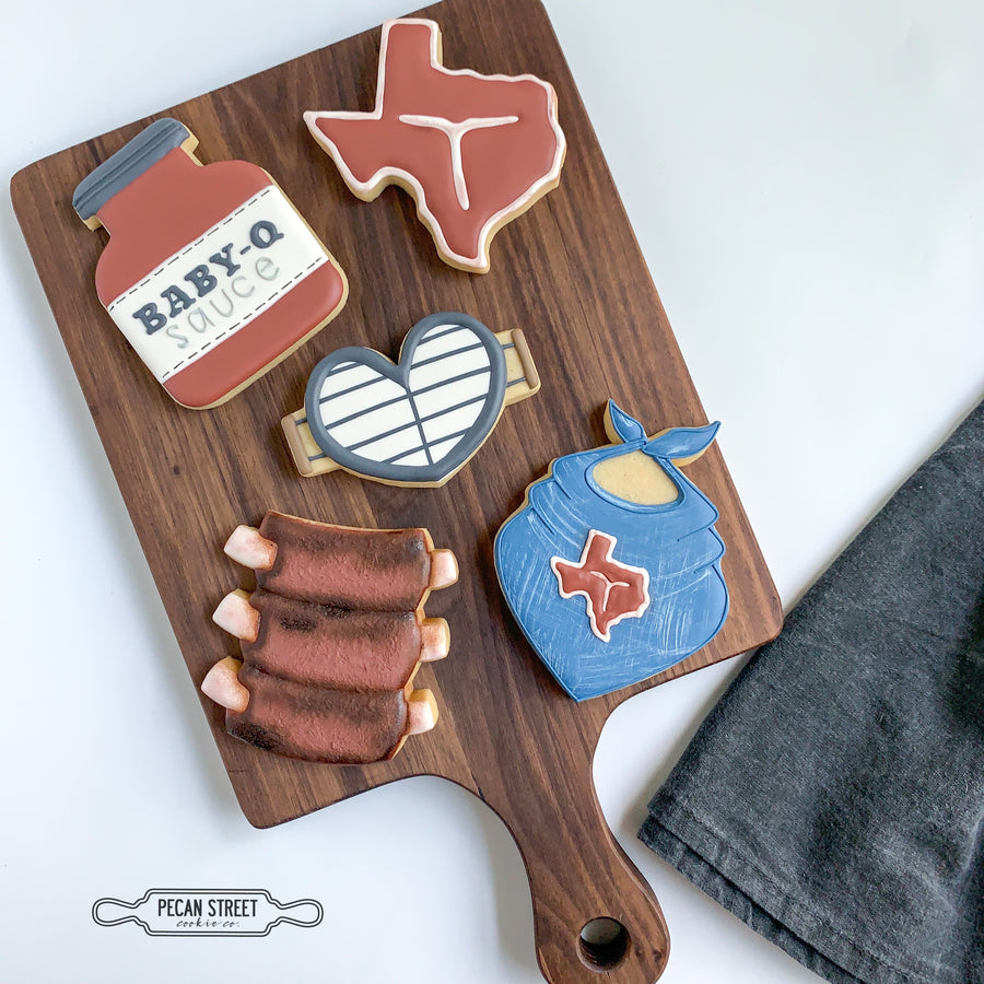 BBQ Sauce Bottle Cookie Cutter