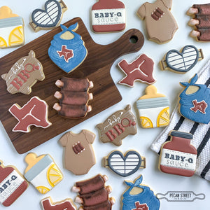 Mason Jar Baby Bottle Cookie Cutter