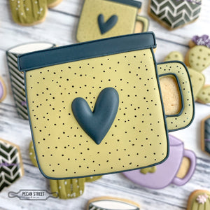 Camping Coffee Mug Cookie Cutter