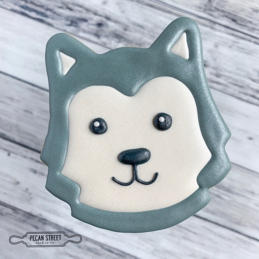 Husky Dog Cookie Cutter