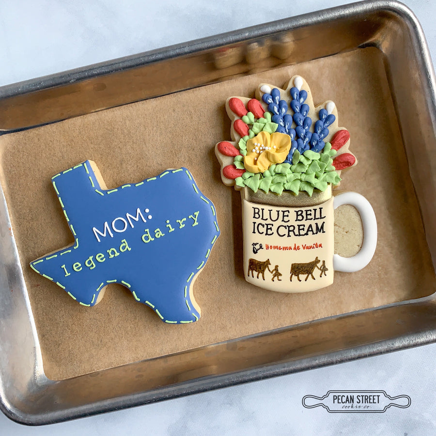 Don't Mess with Texas 4-Piece Cookie Cutter Set