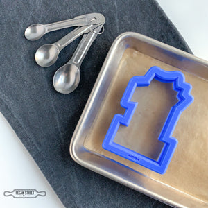 Number One with Crown Cookie Cutter