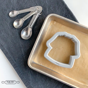 Spa Robe Cookie Cutter