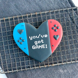 Heart Switch Console Cookie Cutter