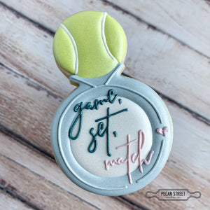 Tennis Wedding Ring Cookie Cutter