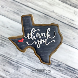 Signature Texas Cookie Cutter