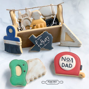 Tool Box 2-Piece Cookie Cutter Set