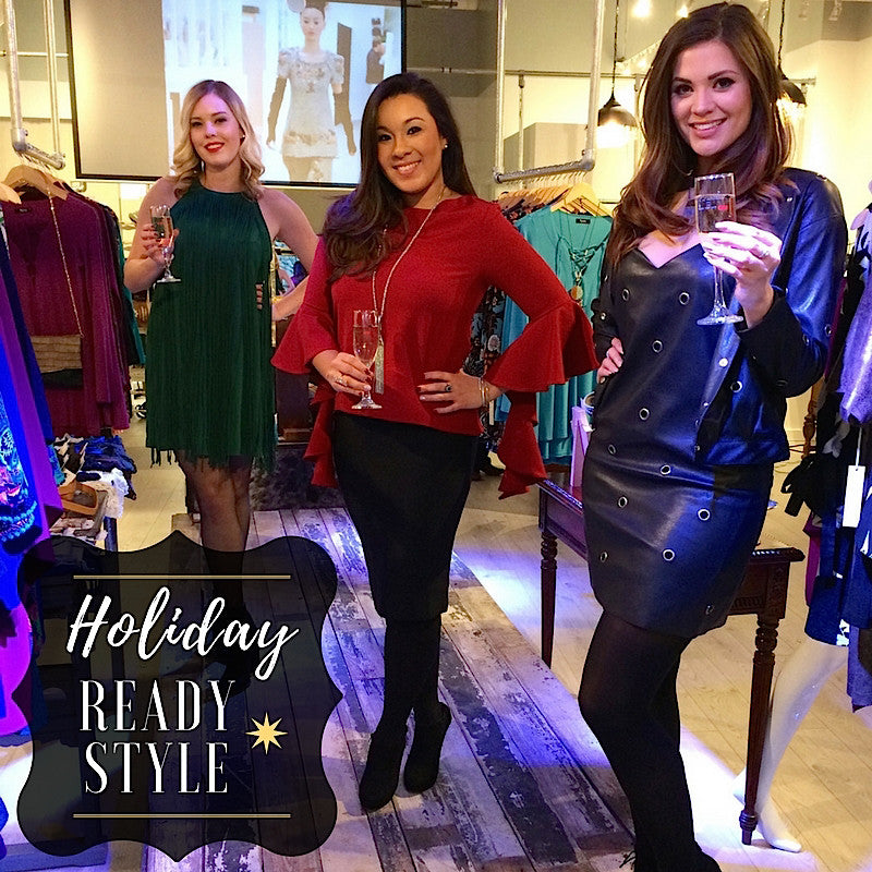 HOLIDAY READY STYLE!