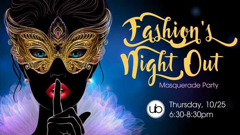 Fashion's Night Out Masquerade Party