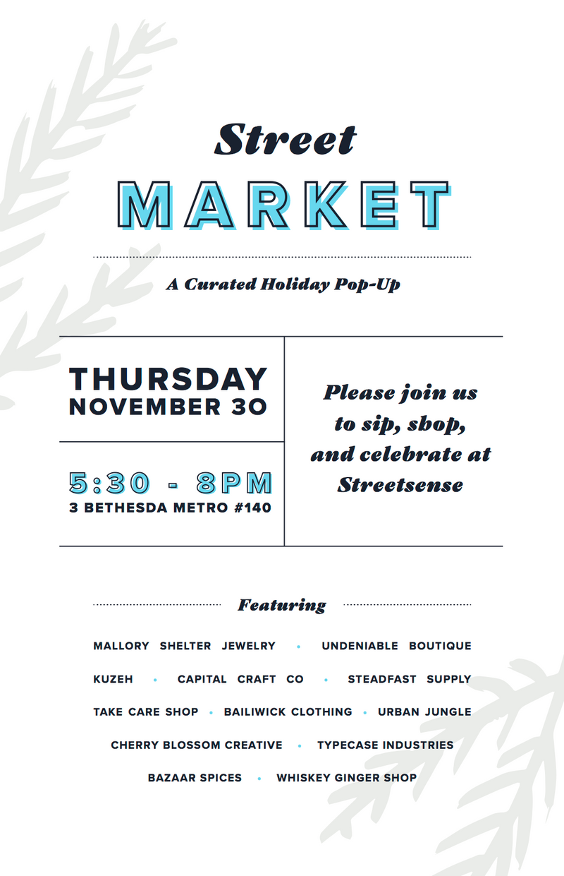 Undeniable Boutique at Streetmarket 2017: A Curated Holiday Pop-Up
