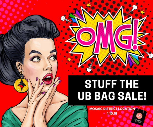 Stuff the UB Bag Sale - $60 All You Can Fit!